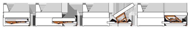 Механизм трансформации дивана дельфин своими руками